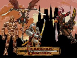 Dungeons and Dragons Party v.1 by TomasMate