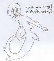 Have You Hugged A Shark Today? by Blue-Vampire-Queen