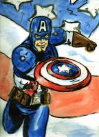 Captain America by lcannizzaro
