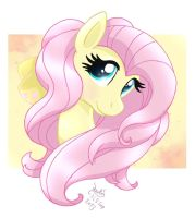 MLP FIM - Fluttershy T-shirt Test Design... by Joakaha