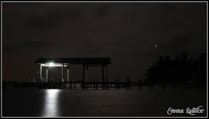 Night on the Pier by Emma-Lawlor