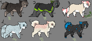 Mixed Adoptables [1] All 20 pts .: Open by oh--my--glob