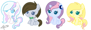 Shipping Foals adoption (CLOSED) by Paintingpone