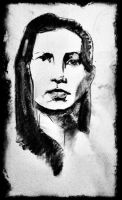 woman portrait 20 min by wmarinics18