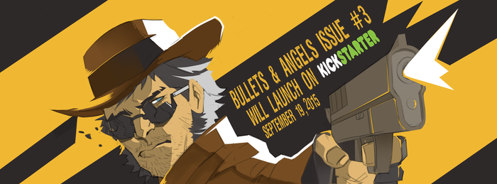Fb-banner for bullets and angel comics by blackstyluss