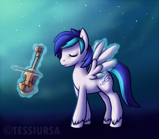 Moonlit Song by tessiursa