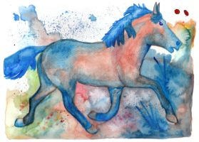 Horse 26, Icelandic by Paintwick