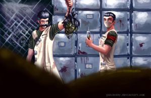 Dr. Zed and Ned: Addendum by pskibobby