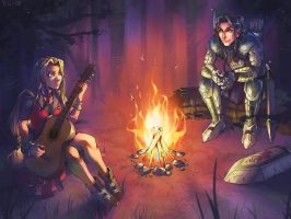 Musical Campfire by Soap-Committee