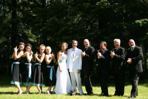 the wedding party by ordinarywonder
