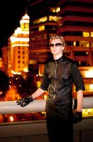 Wesker in the city by vashismyboi