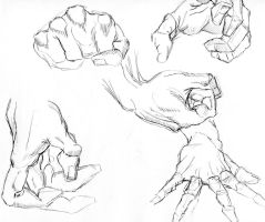 Hands take 5 by creon77