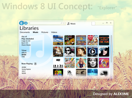 Windows 8 Concept Explorer 1.1 by ALEX3ME