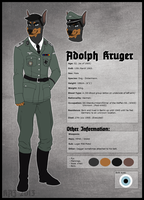 Adolph Kruger Reference by Maniaphobic