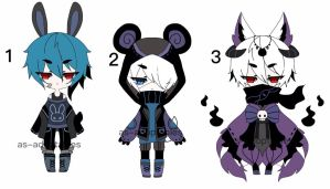 punk boy adoptables CLOSED by AS-Adoptables