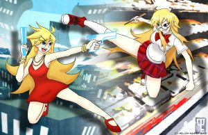 Battle Blondies by mell0w-m1nded