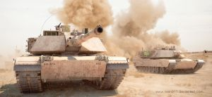M1A2 Abrams : Storming by rOEN911