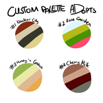 [CLOSED] Custom Palette Adopts by OkayIlie