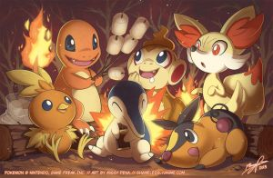 The Fire Starters II by missypena