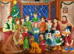 Disney Hawkins: Merry Christmas by simpsonsquire