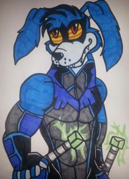 Ripper roo as  Nightwing by 932-2063