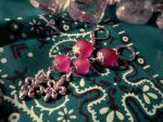 Earrings: A Shade of Purple by Soukyan