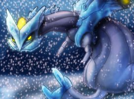 Kyurem by OrcaOwl