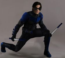 The Dark Knight: Nightwing by RandomFilmsOnline