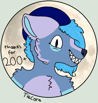 Thanks For 200+ Watchers by tiecora