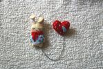 Bunny-Heart | Brooch by Rasa-chi
