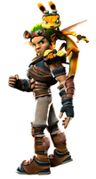 PlayStation All-Stars: BR- Jak and Daxter by acdramon