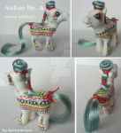 My little Pony Custom G3 Aztec No. 4 clown edition by BerryMouse