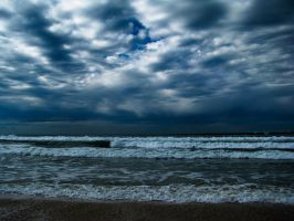 Stormy waters by clubs14
