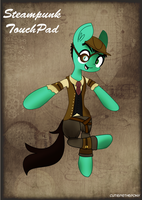 Steampunk TouchPad by CutiePieThePony