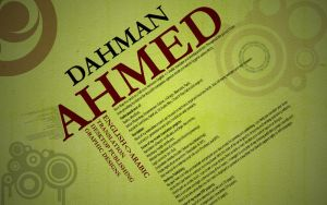 Fun with my CV by a-dahman