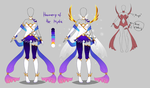 Outfit design - Harmony of the Mystic - closed by LotusLumino