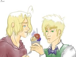APH - Maple and Tea Icecream by Pianodream
