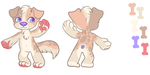Dog adopt! (OPEN!) by Lodidah