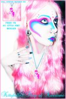 pinkie pie necklace by Countess-Grotesque