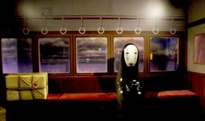 No-Face (Kaonashi) - Spirited Away by tamiresyasmin