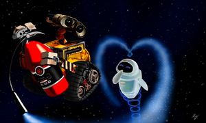 WALL.E by WeaponX-Art