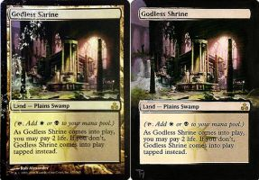 Godless shrine - Alter art ( repair ) by TomGreystone