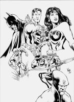 Justice League by natomagalhaes