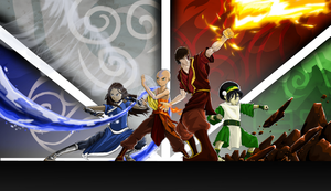 Avatar: The Four Elements by agentspymonkey