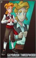 Bro Month 28 - Guybrush Threepwood by IanDimas