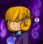 Hoodless Fortune Teller by MadDucky76105