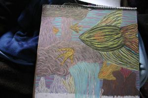 Surreal Fish by vrgraphics