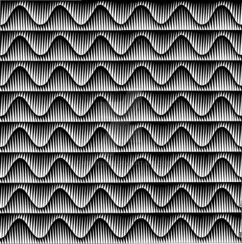 Jagged Sine Waves 1 by carchesium