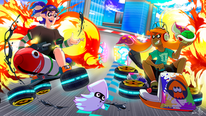 Cool Squids Don't Look At Explosions by TamarinFrog