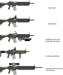 (Updated) S35A2 Assault Rifle by Target21
